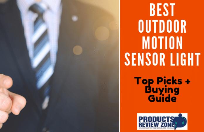 Best Outdoor Motion Sensor Light